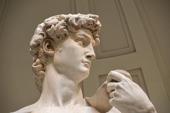 Michelangelo's David Sculpture: The Focus