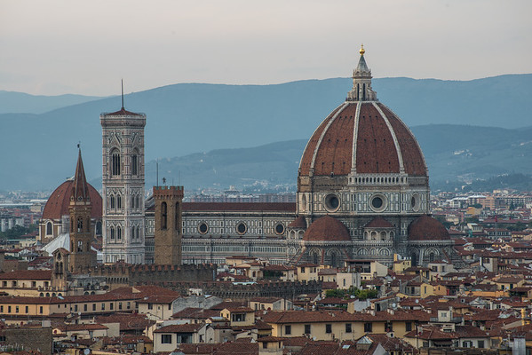 The Florence Cathedral and Il Duomo