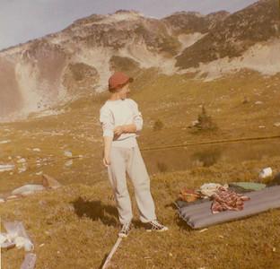 Florence Petersen's Burnt Stew Hike, 1958