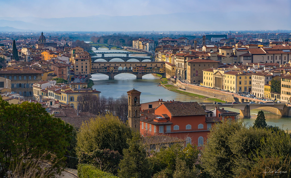 Six Bridges of Florence