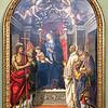 Madonna and Child Otto Alterpiece by Filippino Lippi - Uffizi Gallery