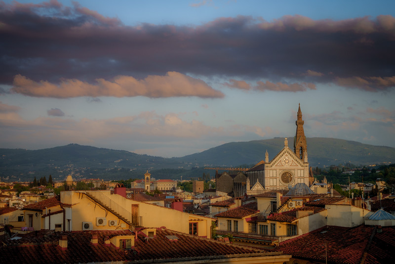 Evening Light – Santa Croce