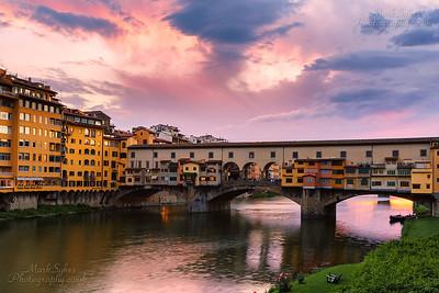 River Arno & Ponte Vecchio