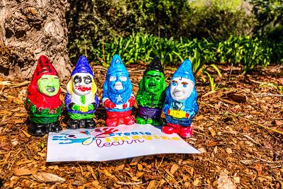 Avenger gnomes of Floriade #canberra #cbr #sonycybershot #spring #gnomes #floriade