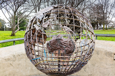 Captain Cook globe
