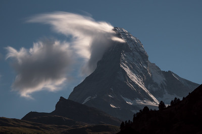 Clouds at the Matterhorn