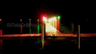Groovy Pier at Night