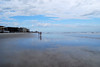 New Smyrna Beach, Florida in February.