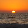 Sunset at Coquina Beach