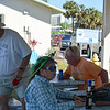 Meetup at the picnic tables, Titusville Municipal Marina
