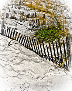 """' Beach Fence ' Gulf Shores, Alabama  12""""x16"""", on Fine Art Paper  or Luster Photo paper (12 mil)"""