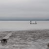 Fishermen and Abandoned Crab Trap