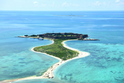 Fort Jefferson & Garden Key from Above