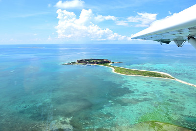 Aerial of Dry Tortugas National Park