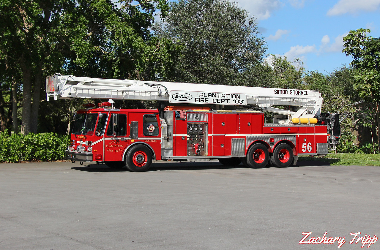 Plantation Fire Department Snorkel 56 (Retired)