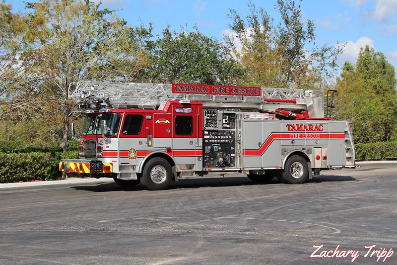 Tamarac Fire Rescue Quint 15