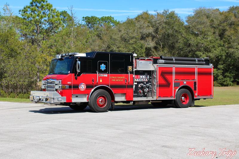 Citrus County Sheriff Fire Rescue Engine 8