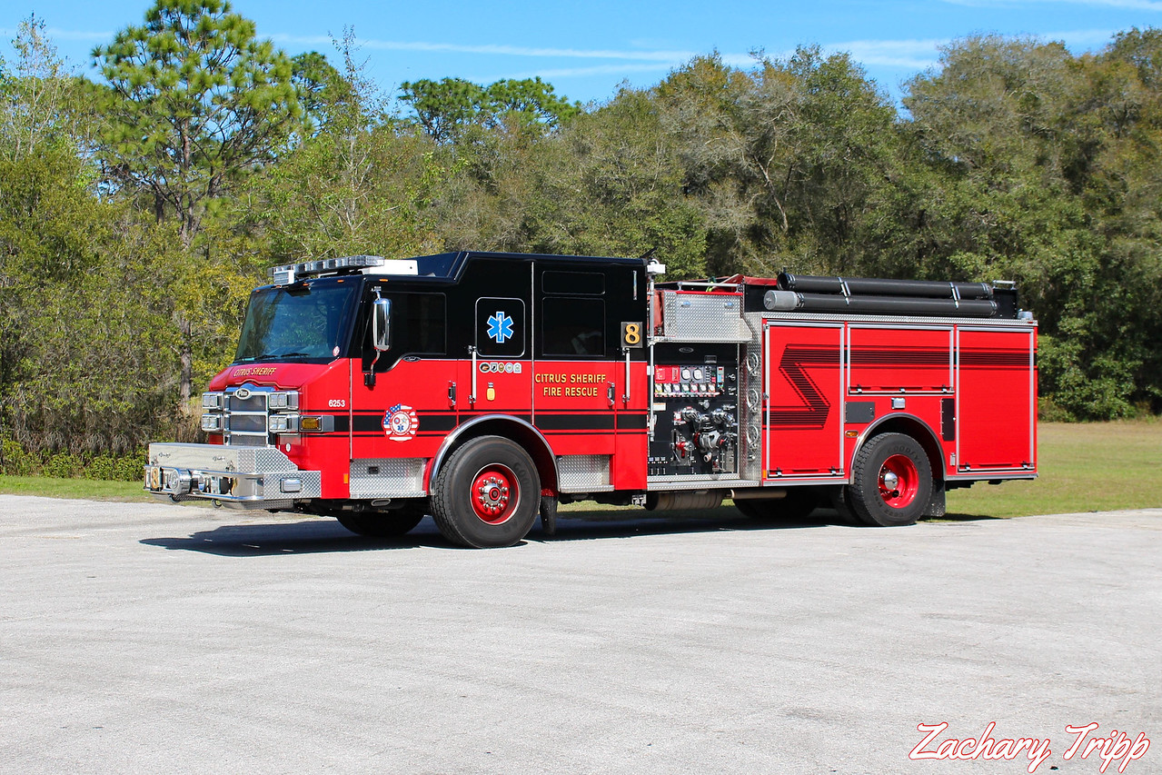 Citrus County Sheriff Fire Rescue Engine 8