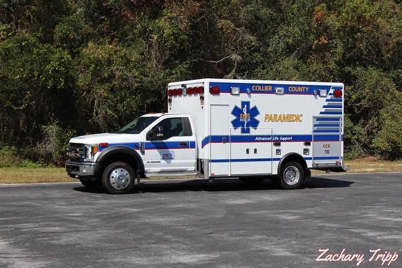 Collier County EMS Medic 16- Bonita Shores