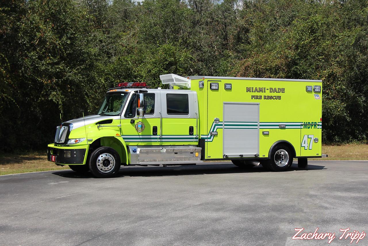 Miami-Dade Fire Rescue Rescue 47