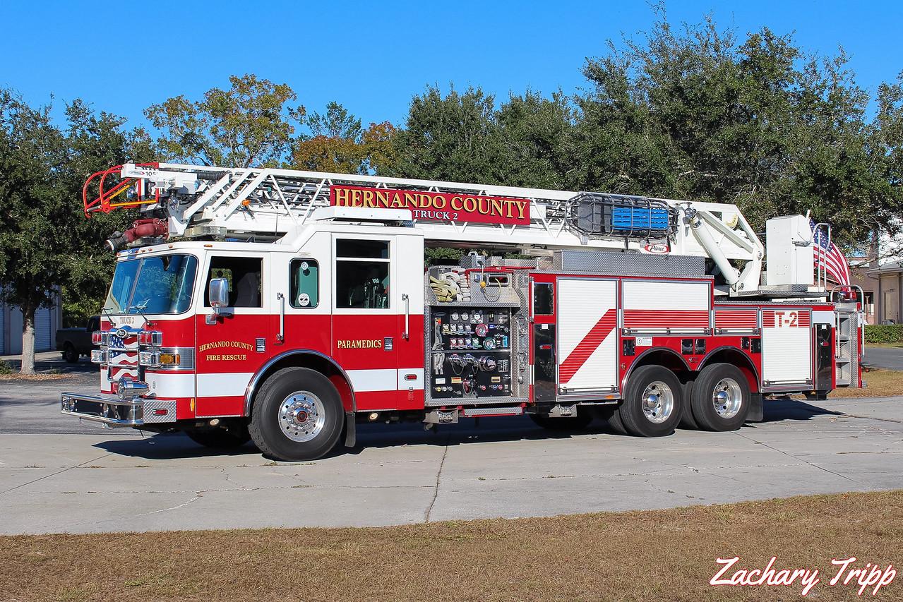 Hernando County Fire Rescue Truck 2