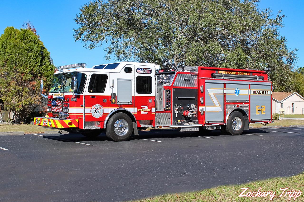 Hernando County Fire Rescue Engine 2