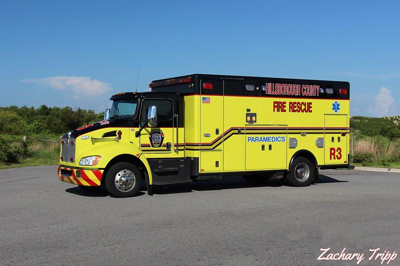 Hillsborough County Fire Rescue Rescue 3