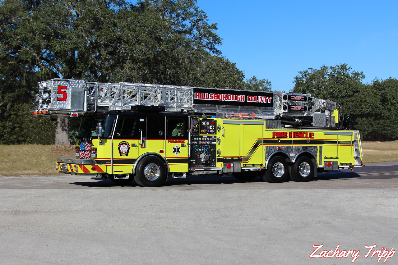 Hillsborough County Fire Rescue Truck 5