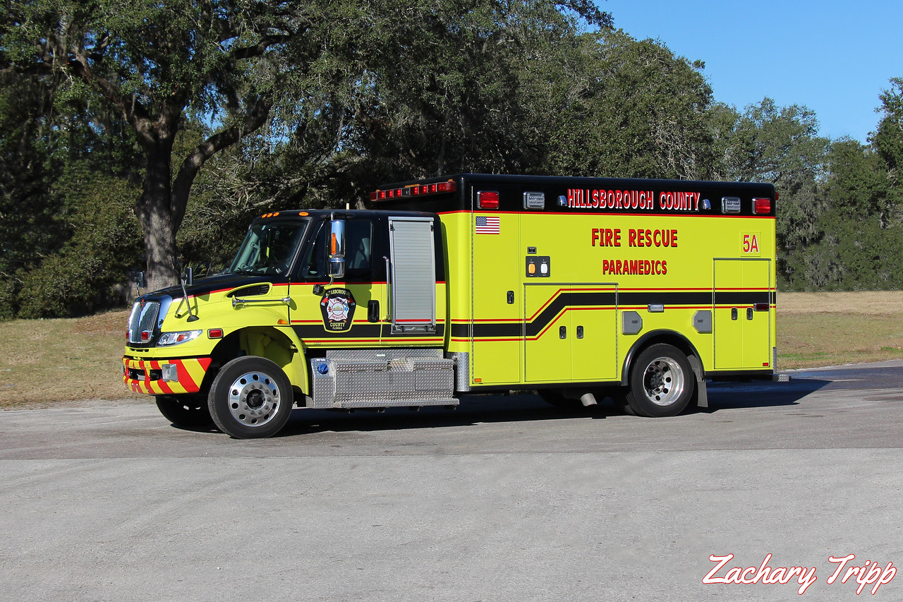 Hillsborough County Fire Rescue Rescue 5A