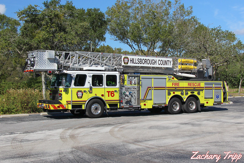 Hillsborough County Fire Rescue Truck 6