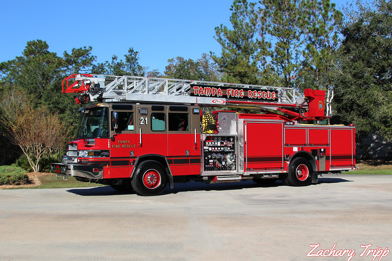Tampa Fire Rescue Truck 21