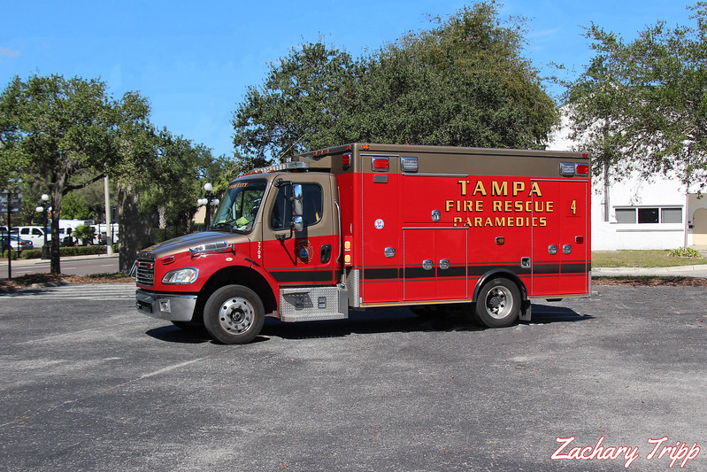 Tampa Fire Rescue Rescue 4