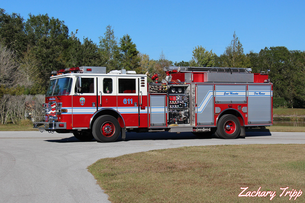East Manatee Fire Rescue Engine 611