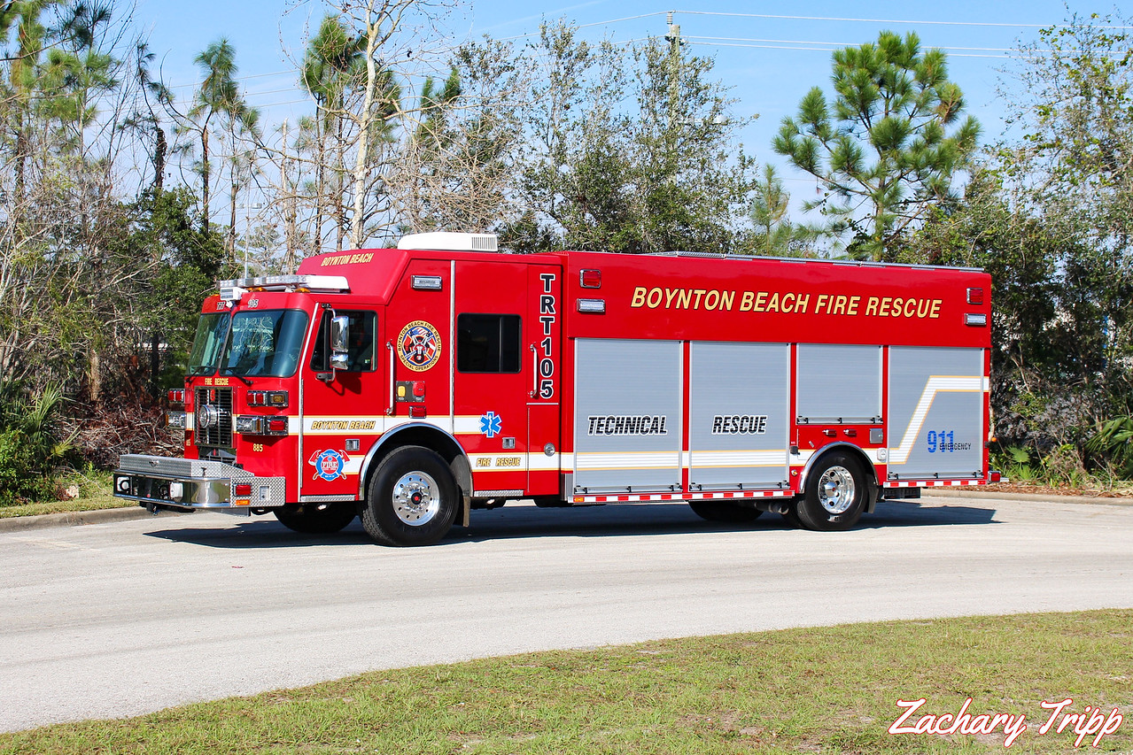 Boynton Beach Fire Rescue TRT 105