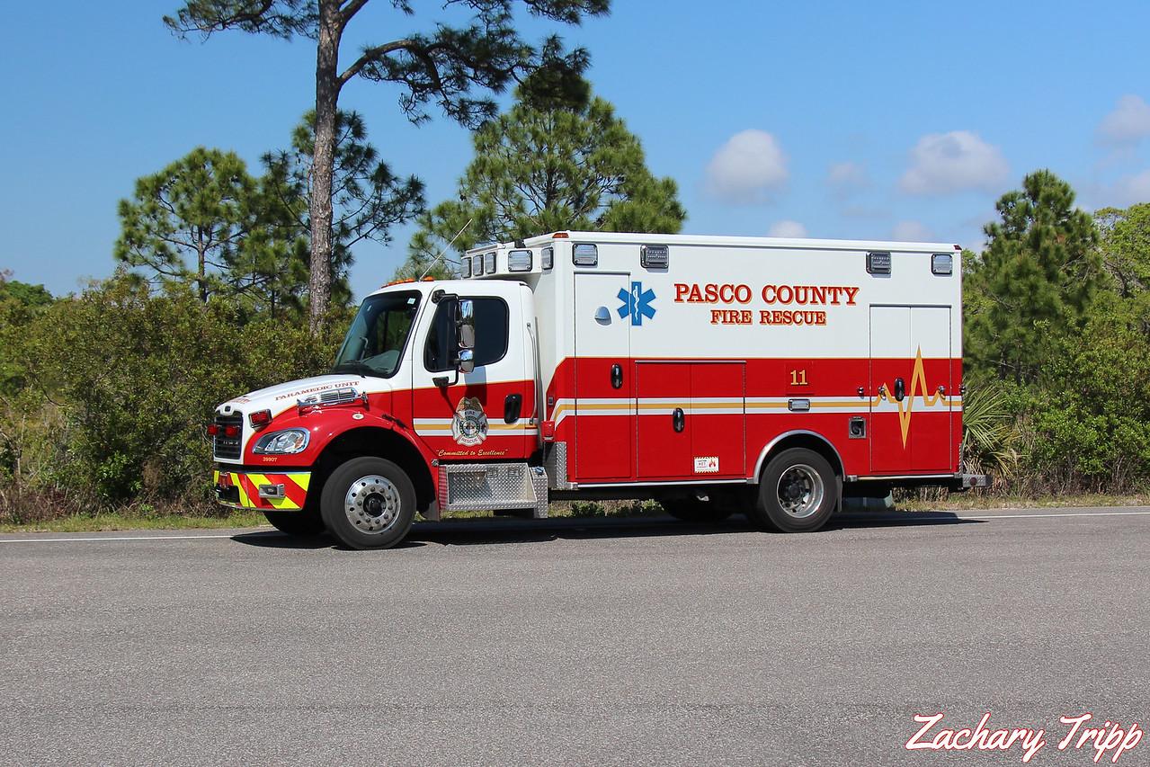 Pasco County Fire Rescue Rescue 11