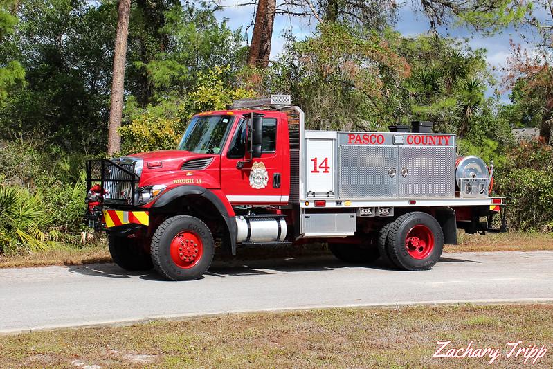 Pasco County Fire Rescue Brush 14