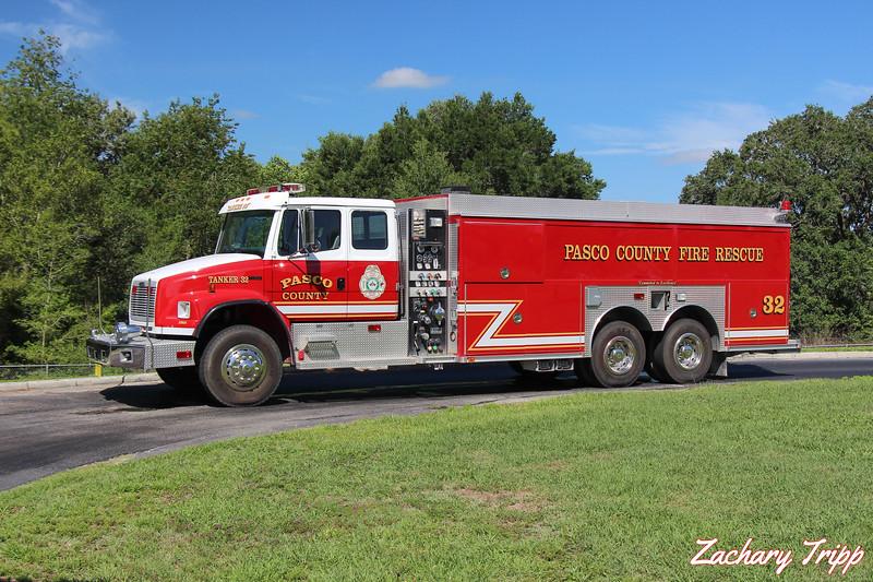 Pasco County Fire Rescue Tanker 32