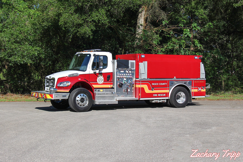 Pasco County Fire Rescue Tanker 34