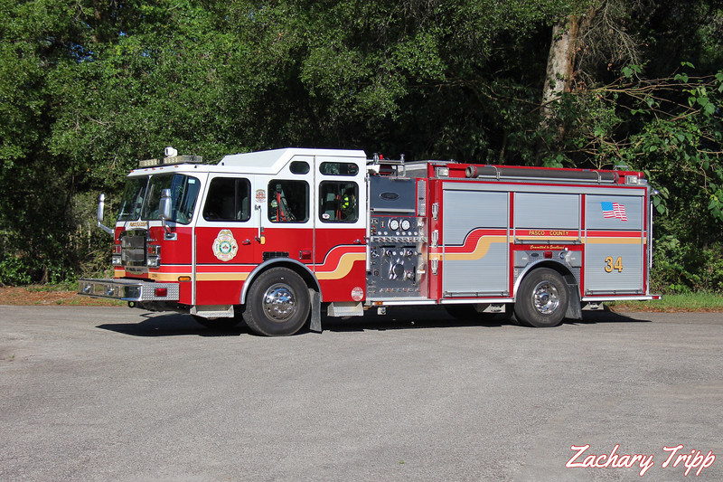 Pasco County Fire Rescue Engine 34 (Retired)