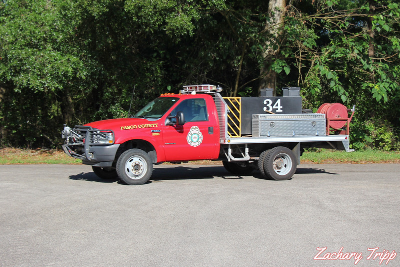 Pasco County Fire Rescue Brush 34 (Retired)