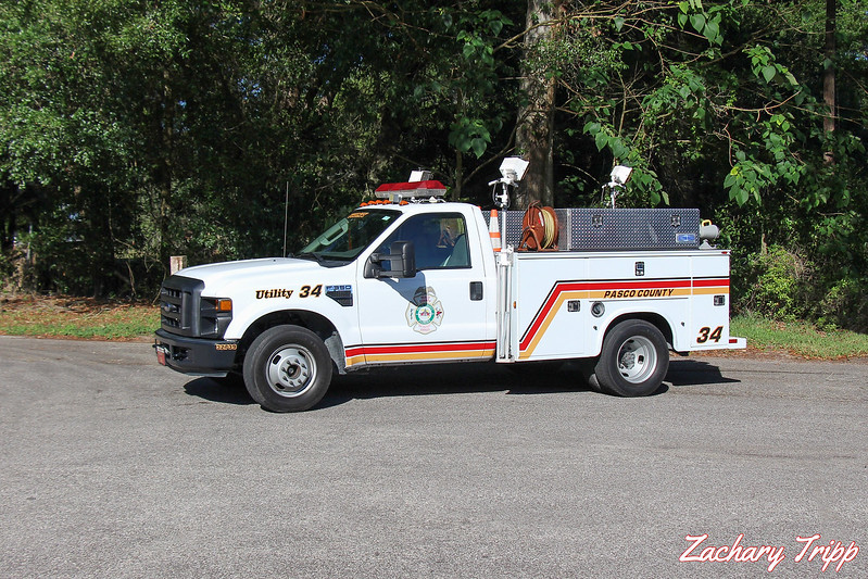 Pasco County Fire Rescue Utility 34