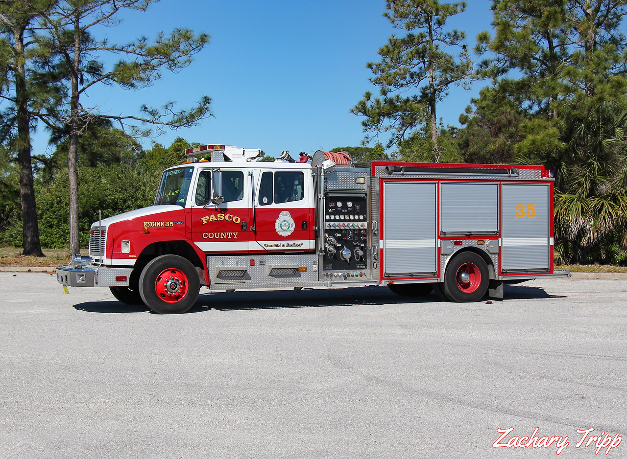 Pasco County Fire Rescue Engine 35