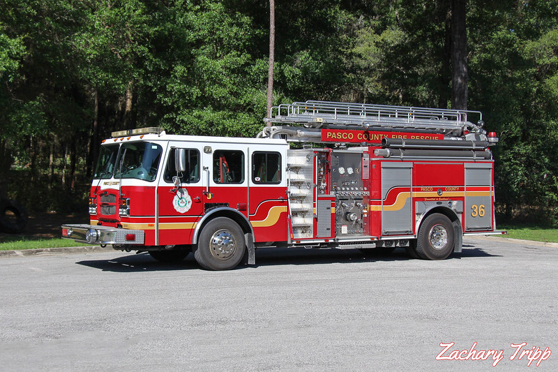 Pasco County Fire Rescue Engine 36 (Retired)