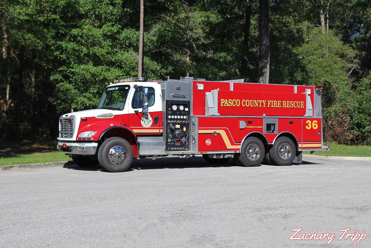 Pasco County Fire Rescue Tanker 36