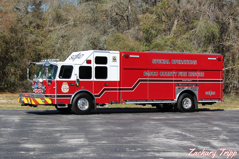 Pasco County Fire Rescue Squad 1