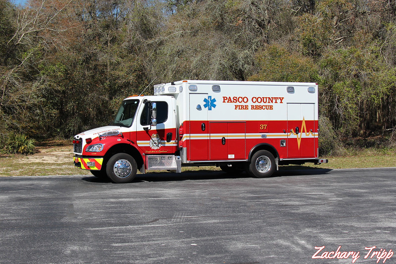 Pasco County Fire Rescue Rescue 37