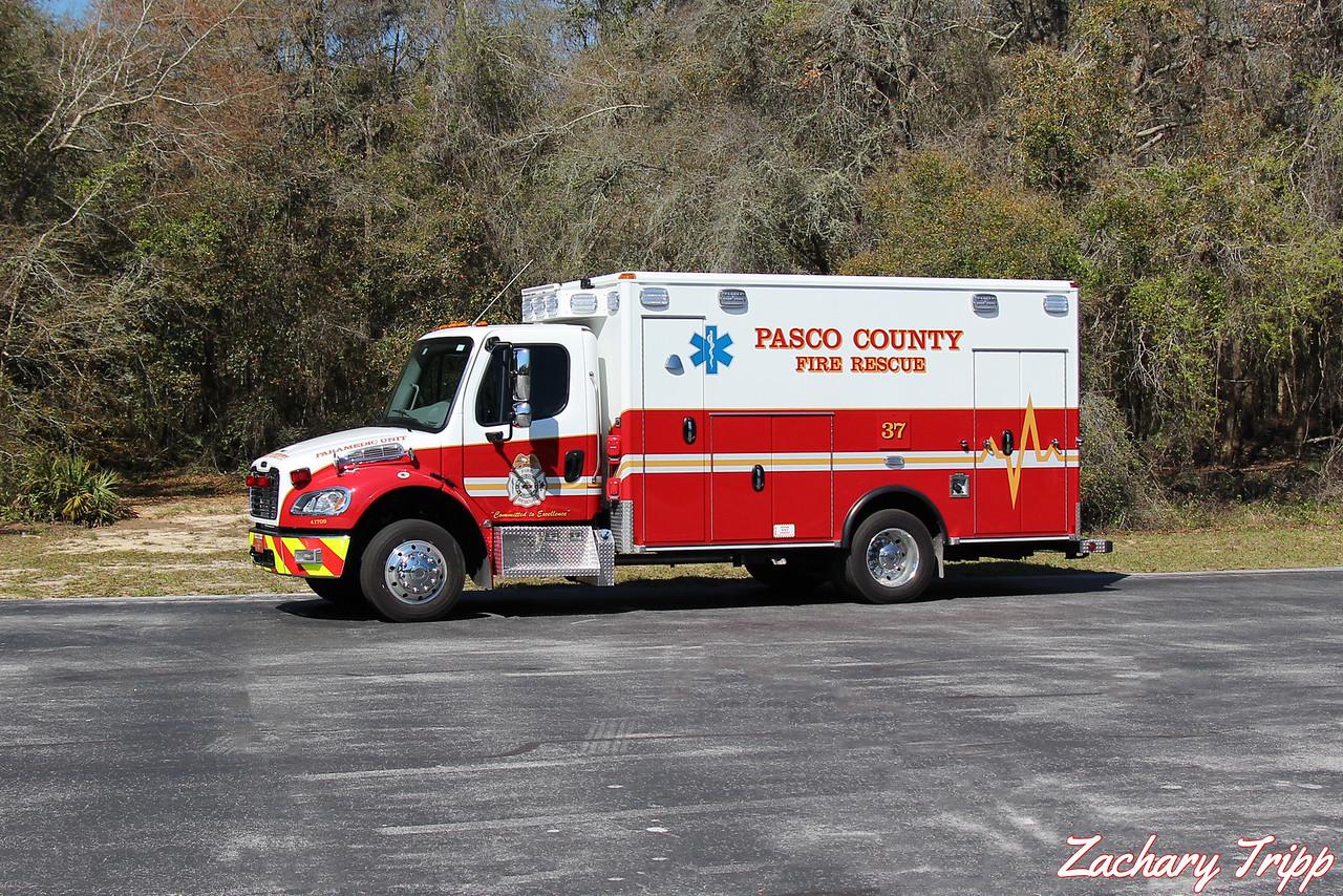Pasco County Fire Rescue Rescue 37