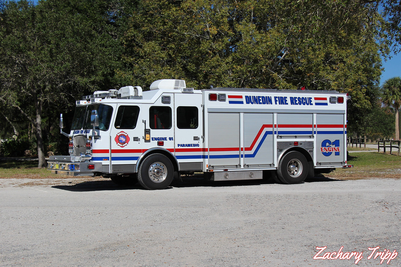 Dunedin Fire Rescue Engine 61