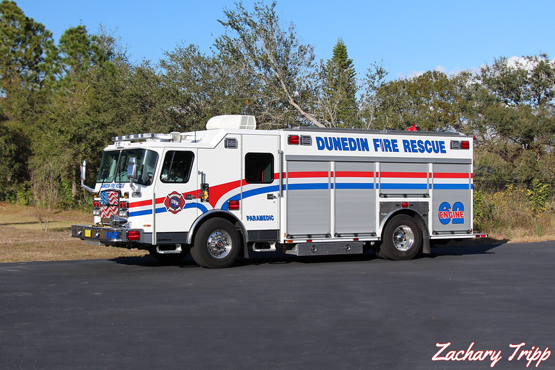 Dunedin Fire Rescue Engine 62