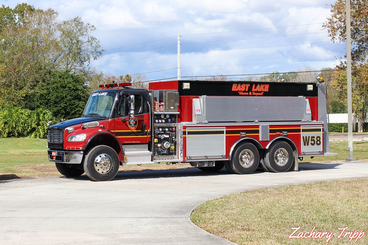 East Lake Fire Rescue Water 58